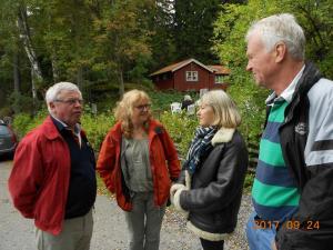 7. Börje & fru Andersson, Ingemo & Ulrik Orstadius
